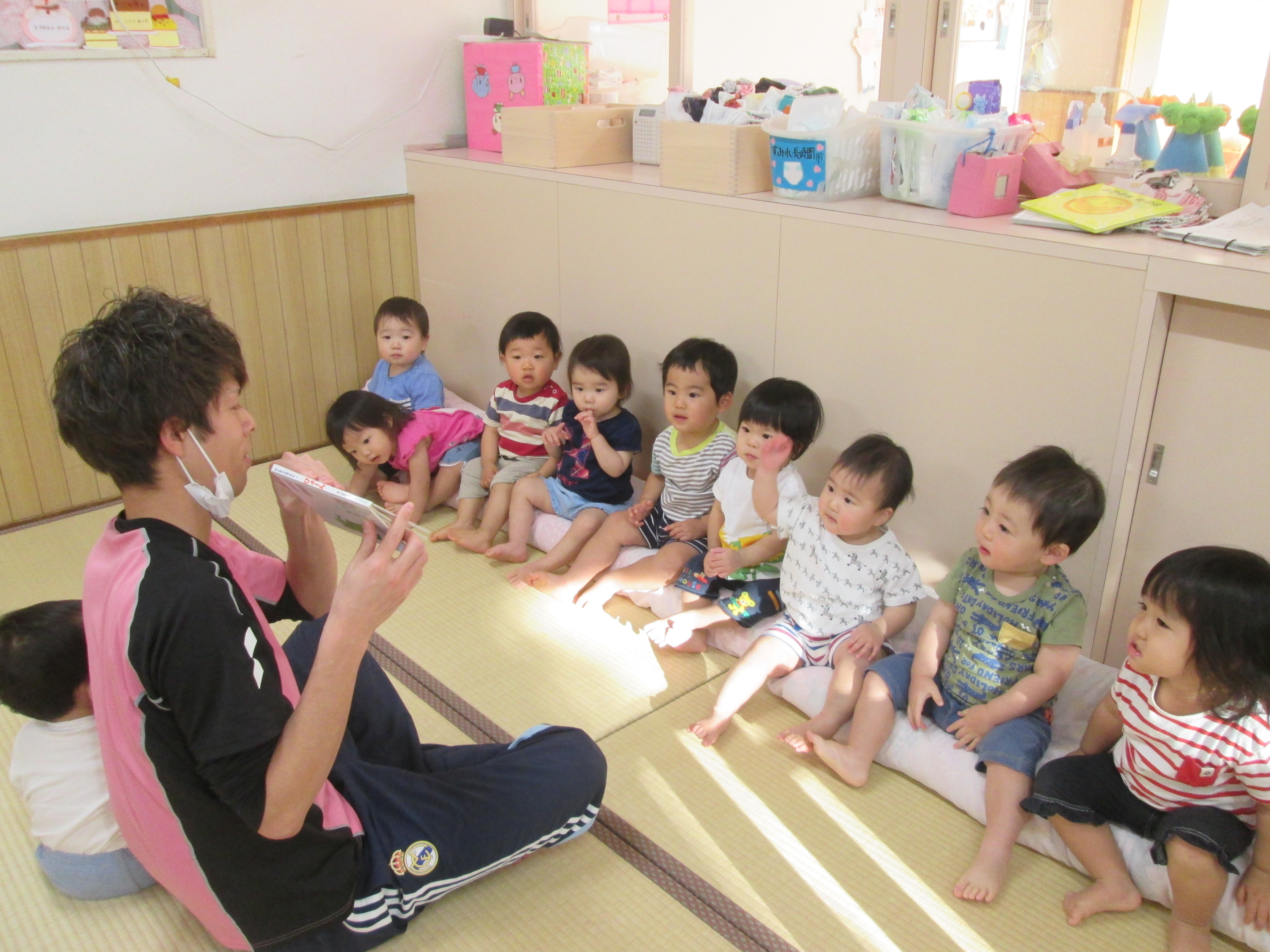 歳児 室内 遊び 2